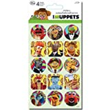 (4x8) The Muppets Stickers 4 Sheets