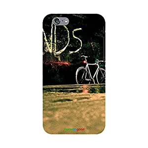 HomeSoGood Friends For Ever Black Case For iPhone 6S (Back Cover)