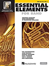 Essential Elements French Edition - F Horn Bk1 W/Eei Online Media Ee2K Compatible