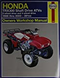 img - for Honda Trx300 Shaft Drive ATVs Owners Workshop Manual 1988 Thru 1995. 281 cc. (Haynes Owners Workshop Manuals) book / textbook / text book