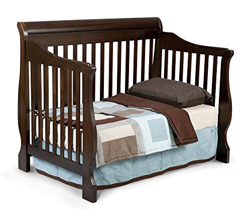 Delta Children Canton 4-in-1 Convertible Crib, Espresso ...