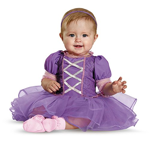 Disguise Baby Girls' Rapunzel Prestige Infant Costume