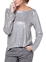 Tantra Camiseta Manga Larga Waxed Metallic (Plateado)