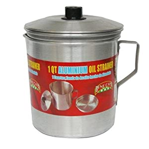 Oil Strainer Dispenser 1 QT Aluminum