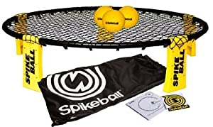 Spikeball Combo Meal - As Seen On Shark Tank TV - 3 Ball Set, Drawstring Bag, And Rule Book by Spikeball