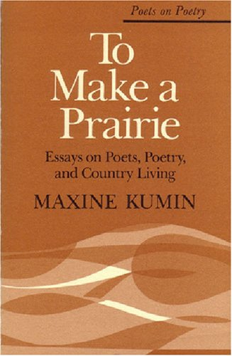 an introduction to the literature by maxine kumin Maxine kumin poetry analysis maxine introduces the narrator's problem with the woodchucks and how she justifies attempting to maxine kumin maxine kumin.