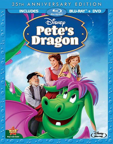Cover art for  Pete's Dragon (35th Anniversary Edition) [Blu-ray]