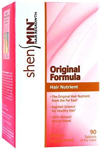 Shen Min Hair Nutrient Original Formula - 90 Tablets -pack o