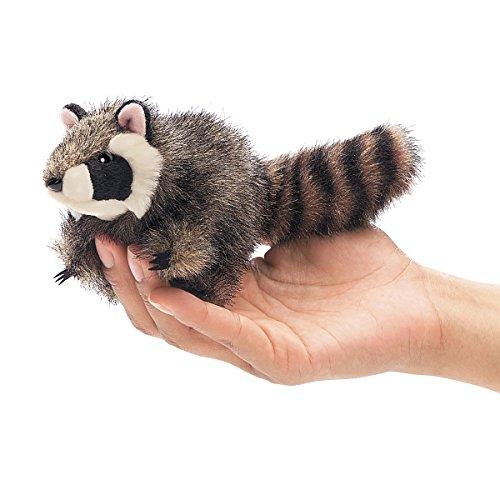 Raccoon Finger Puppet<br>Folkmanis