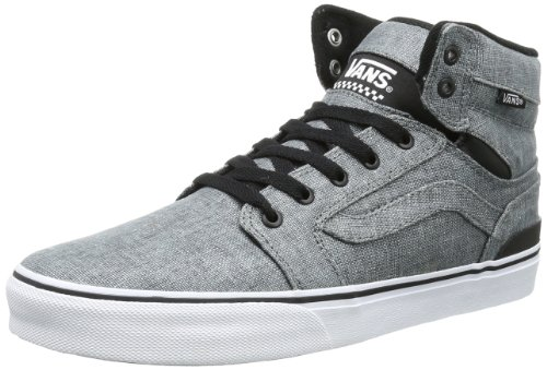 Vans Mens Sanction High-Top VUCV59T Textile/Grey/Black 10.5 UK, 45 EU