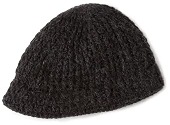 Woolrich Women's Chunky Knit Radar Hat, Black, One Size