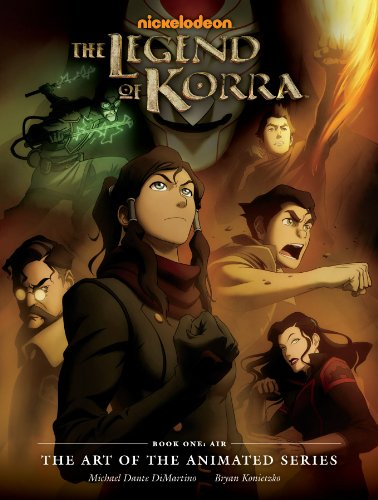 the legend of korra book 1 air the art of the voltagebd Images