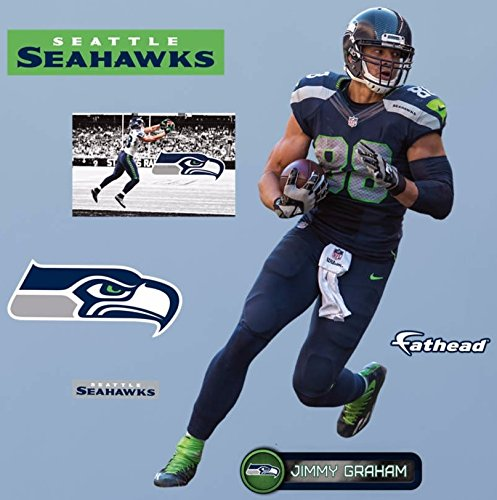Jimmy-Graham-FATHEAD-Seattle-Seahawks-7-Official-Vinyl-Wall-Graphics-17-INCH