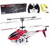Syma S107/S107G Phantom 3CH 3.5 Channel Mini RC Helicopter with Gyro (Red)