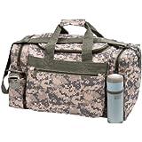"""DALIX 18"""" ACU Duffel Bag Digital Camouflage Gym Travel Bag"""