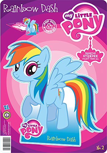 Aquarius MLP- Rainbow Desktop Standee - 1