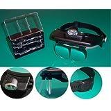Profi Kopfband-Lupen-Set - Lupenbrille Lupe