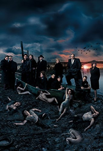 Old Tin Sign poster(14x10inch)The Sopranos TV Series 1999-2007 TV Series Poster (Sopranos Full Series 3 compare prices)