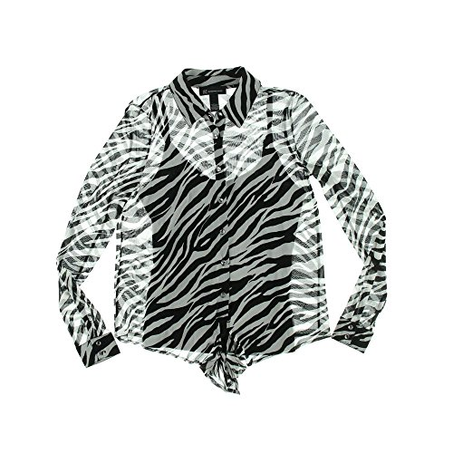 INC Womens Sheer Animal Print Button-Down Top crawford hollingworth god inc global over development inc annual report 2011