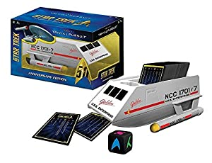 Star Trek 50 years Trivial Pursuit-Panic-Risk Three game bundle set combo pack