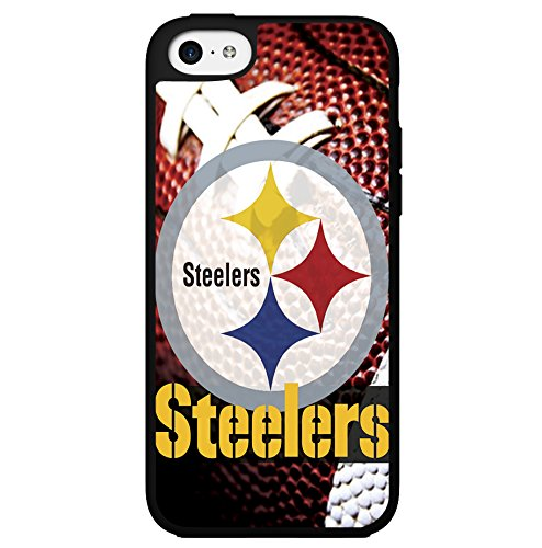 Pittsburgh Steelers Football Sports Hard Snap on Phone Case (iPhone 5c) by Lisca Co.Ltd