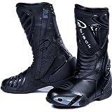 Black Zero Motorcycle Boots