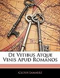 de Vitibus Atque Vinis Apud Romanos