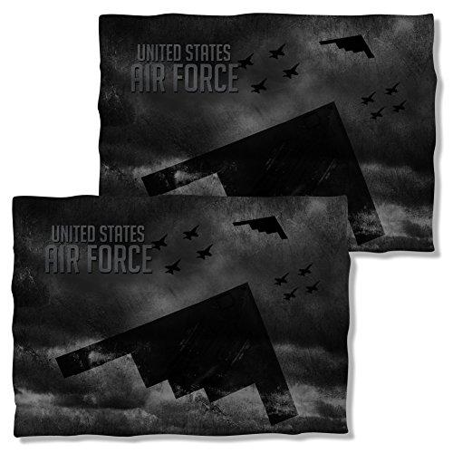 Front & Back Pillow Case: Stealth U.S. Air Force AF108FBPLO