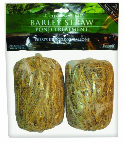 Summit 125 Clear-Water Barley Straw Bales, 2-Pack Treats up to 1000-Gallon (1000 Gal Water Tank compare prices)