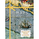 Maps from the British Library Wrapping Paper Book