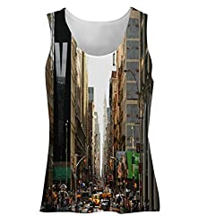 Snoogg Y City Womens Tunic Casual Beach Fitness Vests Tank Tops Sleeveless T shirts