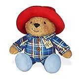 "YOTTOY Paddington Bear Collection | Sleepy Time Paddington Stuffed Plush Toy, Snores When Hugged – 7.25""H (Color: Sleepy Time Paddington)"