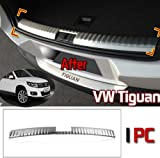 GOOACC®Rear Trunk Trim Interior Protector Trim 1P for 2010 2011 2012 Volkswagen VW Tiguan