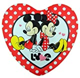 Classic Style Minnie & Mickey Mouse Heart Tin with Character Shape Milk Chocolate Candies