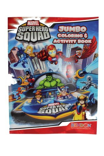 Marvel Superhero Squad Coloring and Activity Book - 1