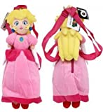 "Princess Peach 16"" Plush Backpack"