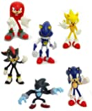 Sonic the Hedgehog - Buildable Figures - SET of 6