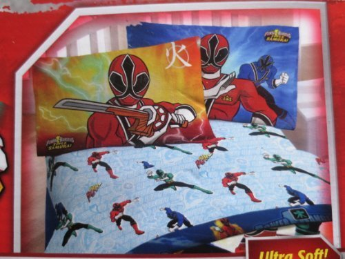Great Deal! Power Rangers Sheet Set, Twin
