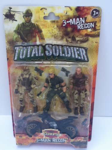The Corps! Total Soldier 3 Man Recon - 1