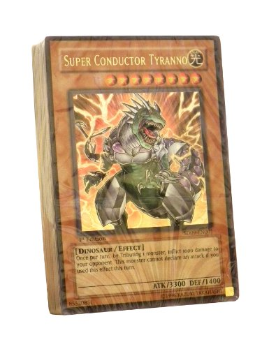 Yu-Gi-Oh English Trading Card Game - Dinosaur's Rage Starter Deck (No Box) (4... - 1