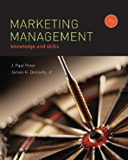 Marketing Management Knowledge and Skills by J.