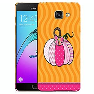 Theskinmantra Pumpkin Bag Samsung Galaxy A7 (2016 Edition) Mobile back cover