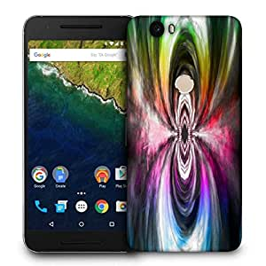 Snoogg Music Maddness Printed Protective Phone Back Case Cover For LG Google Nexus 6P