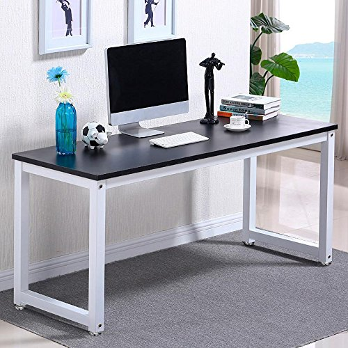 popamazingr-simple-computer-desk-wood-desktop-workstation-steel-frame-table-home-office-furniture-bl