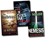 Jo Nesbo Jo Nesbo, Harry Hole Books 3, 4 and 5 Collection (Redbreast, Nemesis, The Devils Star)