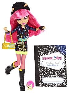 Mattel BBK01 - Monster High 13 Wünsche Howleen, Puppe