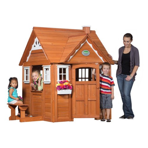 Backyard Discovery My Cedar Playhouse Multicolor - 37013