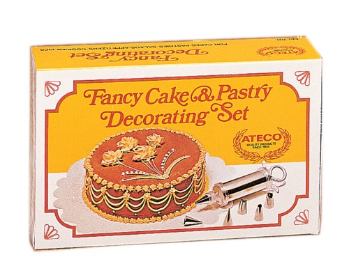 and pastry decorating set buy ateco 7 piece fancy cake and pastry