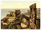 Sussex, Hastings, The Castle - English Photochrome - EPC511 Matte Paper A4 Size