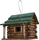 Rivers Edge Products Log Cabin Birdhouse